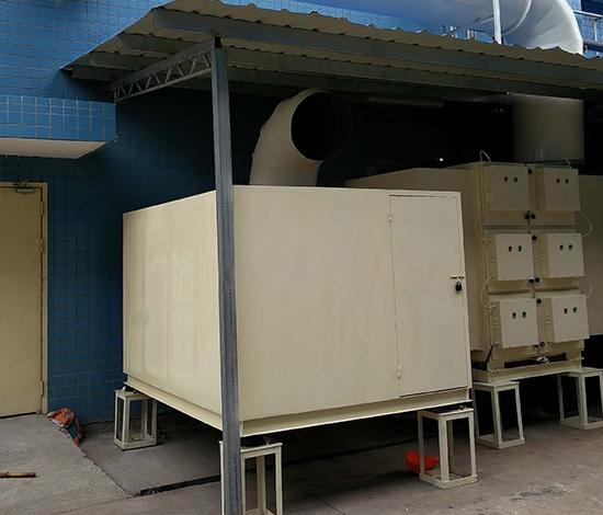 集中式静电油雾净化器