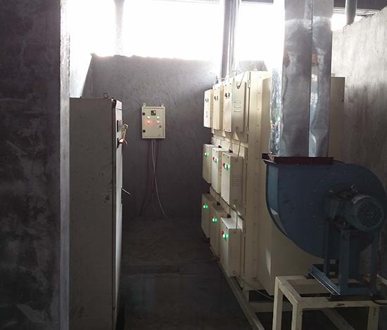 热处理油雾静电式收集器