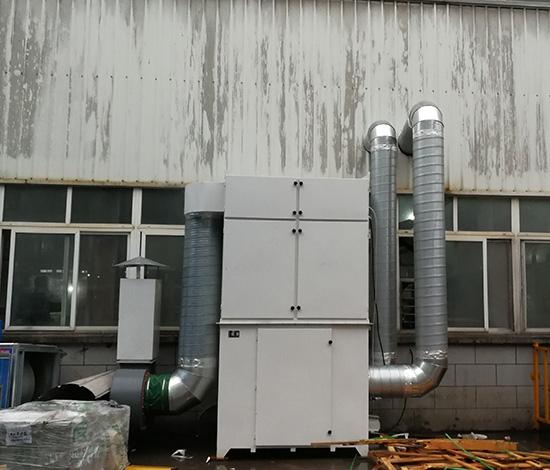不锈钢抛光粉尘收集除尘器