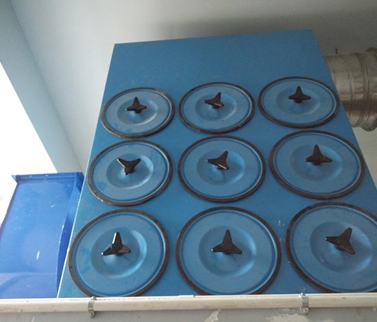 木屑粉尘收集滤筒除尘器