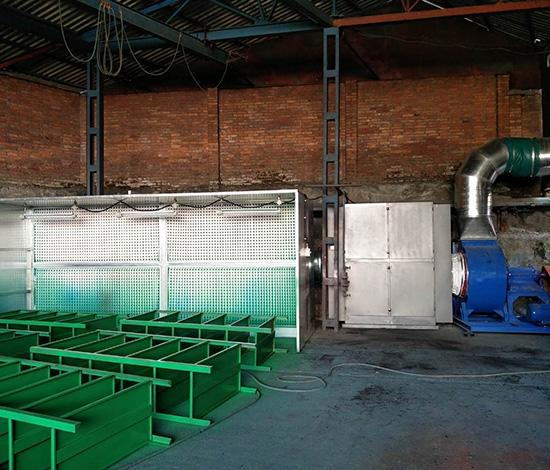 漆雾废气收集活性炭净化器